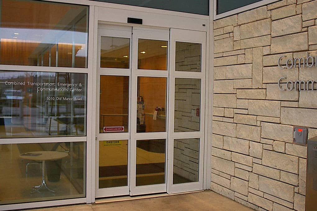 Automatic Telescopic Sliding Doors Canuck Door Systems