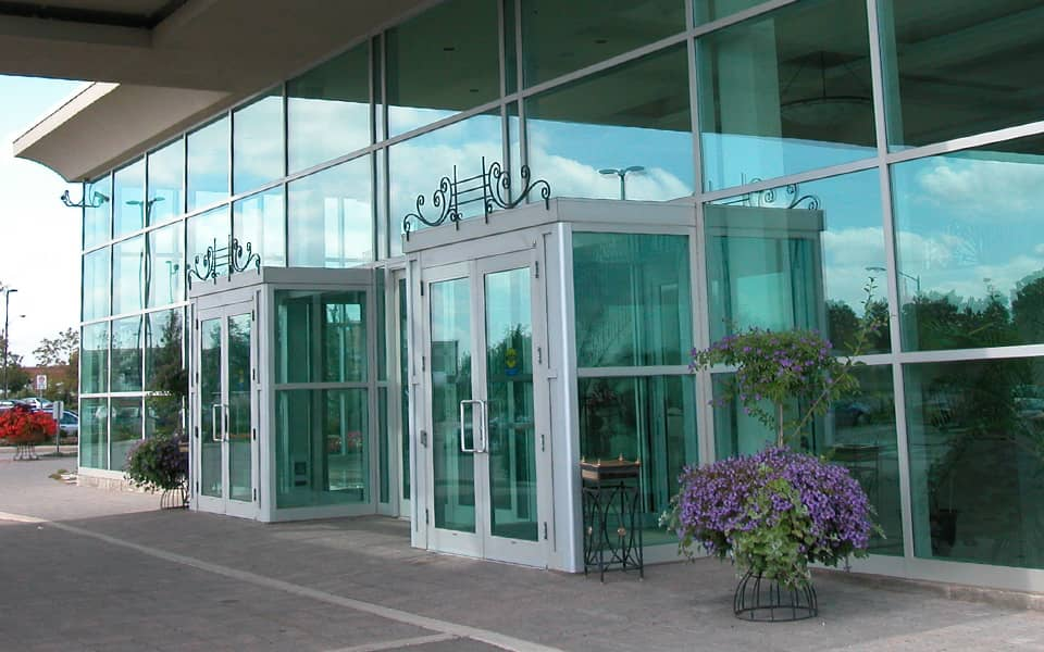 commercial glass repair and installation