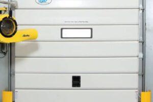 Insulated Flexible Sectional Dock Door