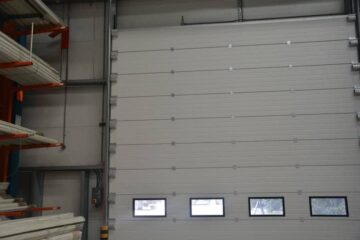 Sectional High Performance Doors