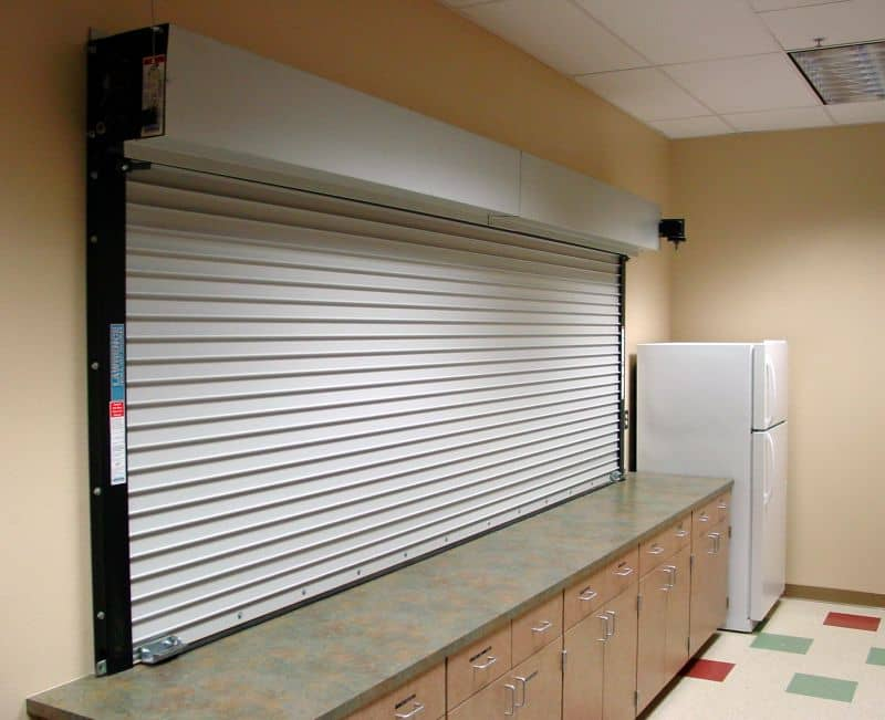 Rolling Fire Counter Shutter Canuck Door Systems