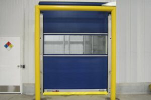 Rolling Fabric Doors
