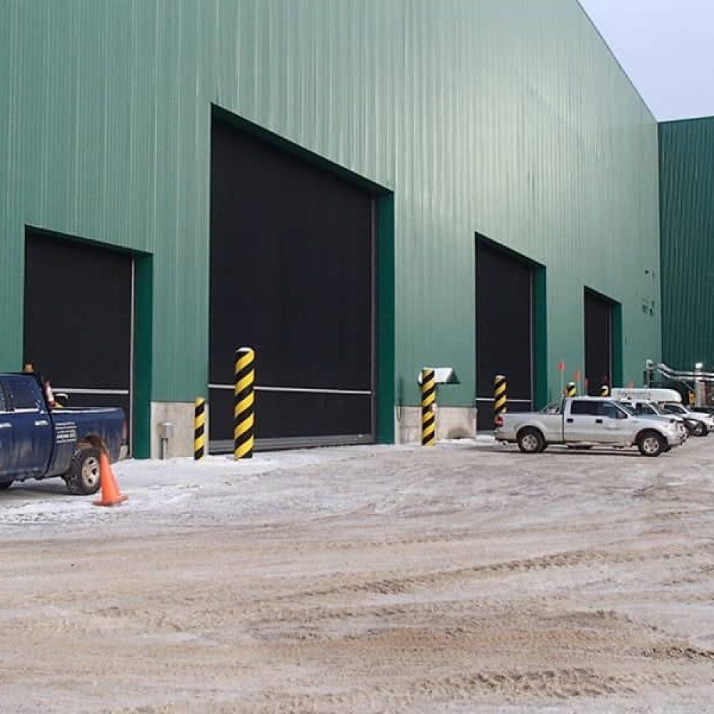 Heavy Duty Dock Rubber Door