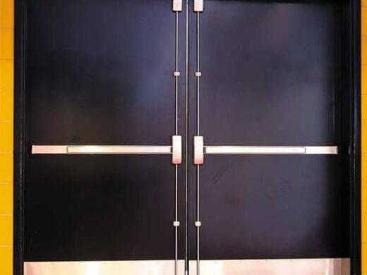 commercial metal door