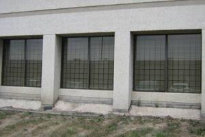security fixed window bars