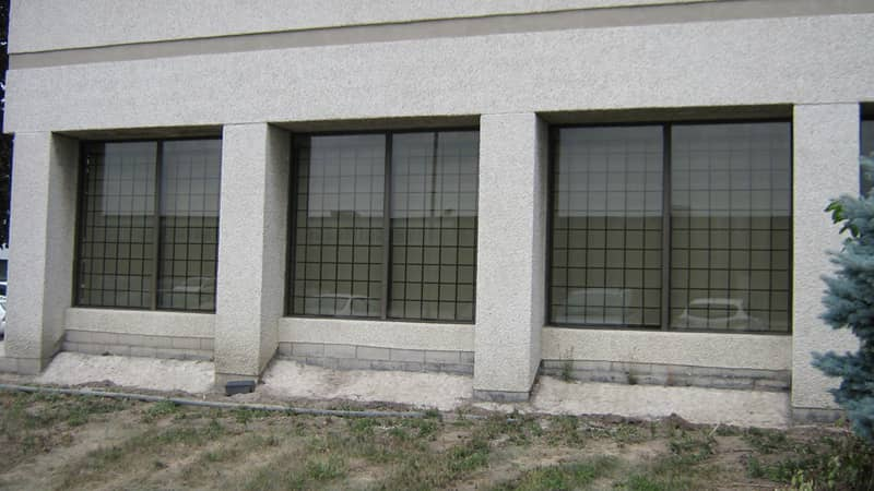 security fixed window bars