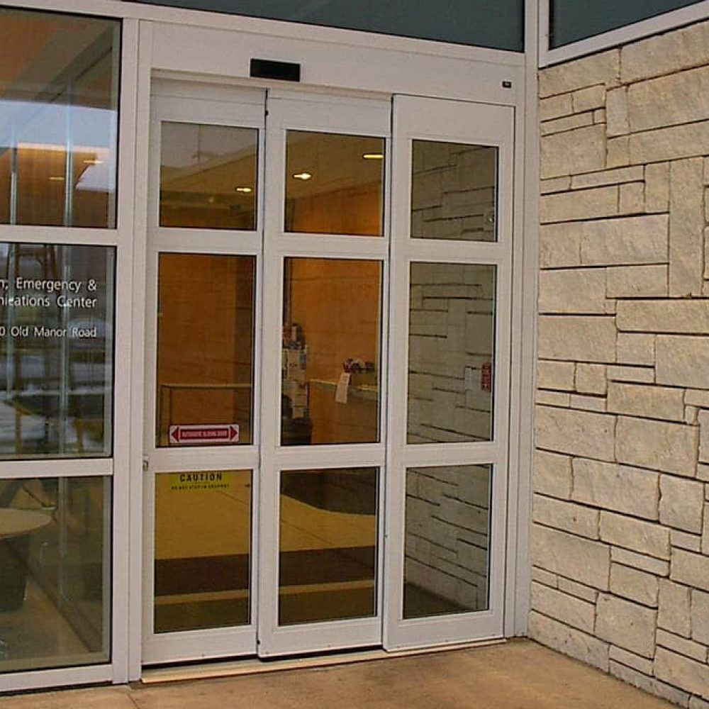 telescopic sliding doors