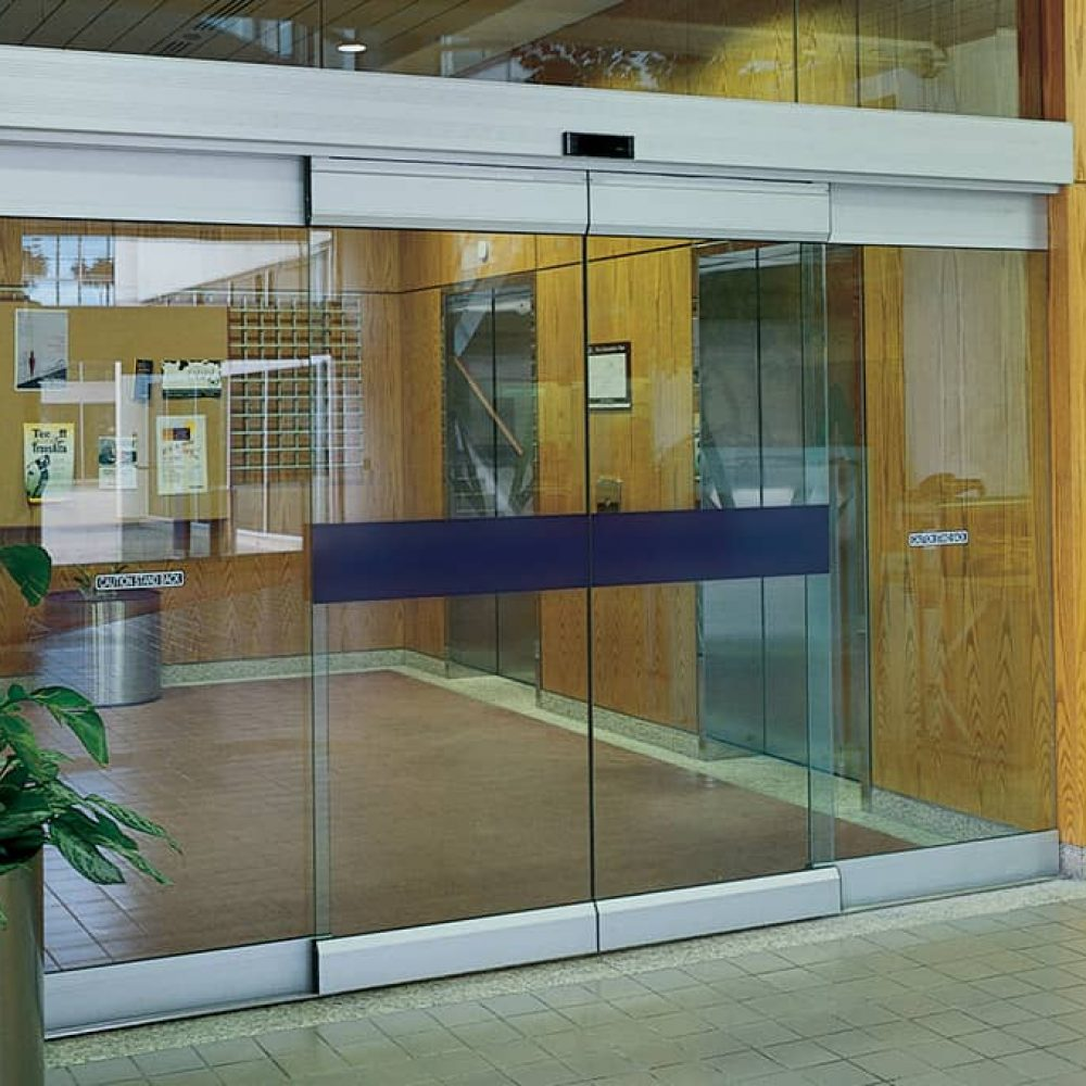 Automatic Frameless Sliding Glass Doors