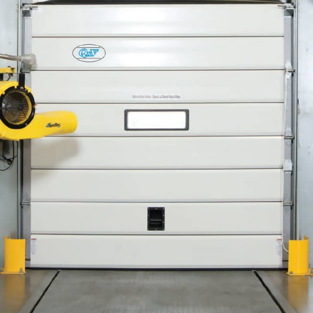 Insulated Flexible Sectional Dock Door