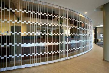Open Style Folding Security Grilles