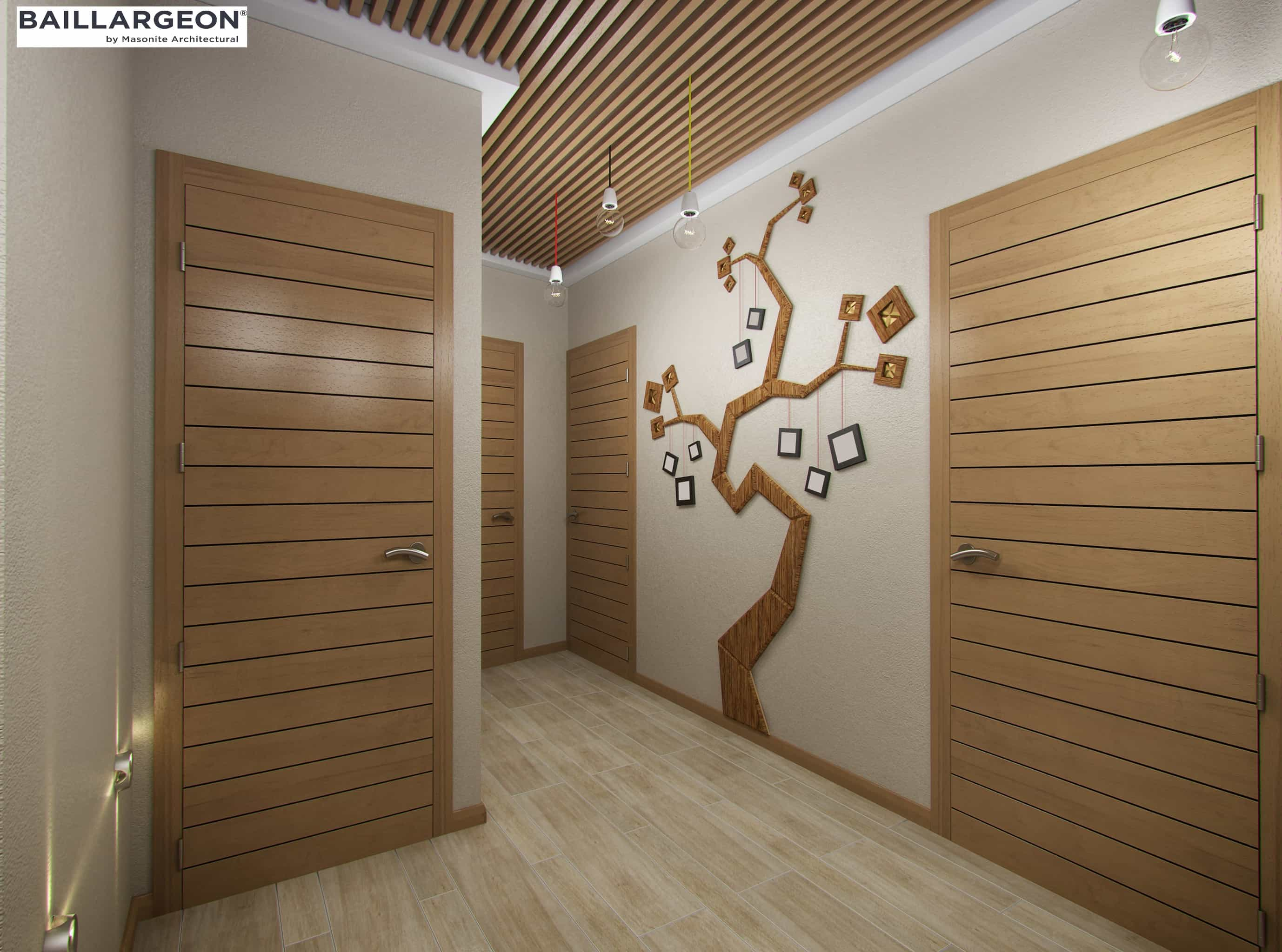 Wood Interior Veneer Door Canuck Door Systems Co