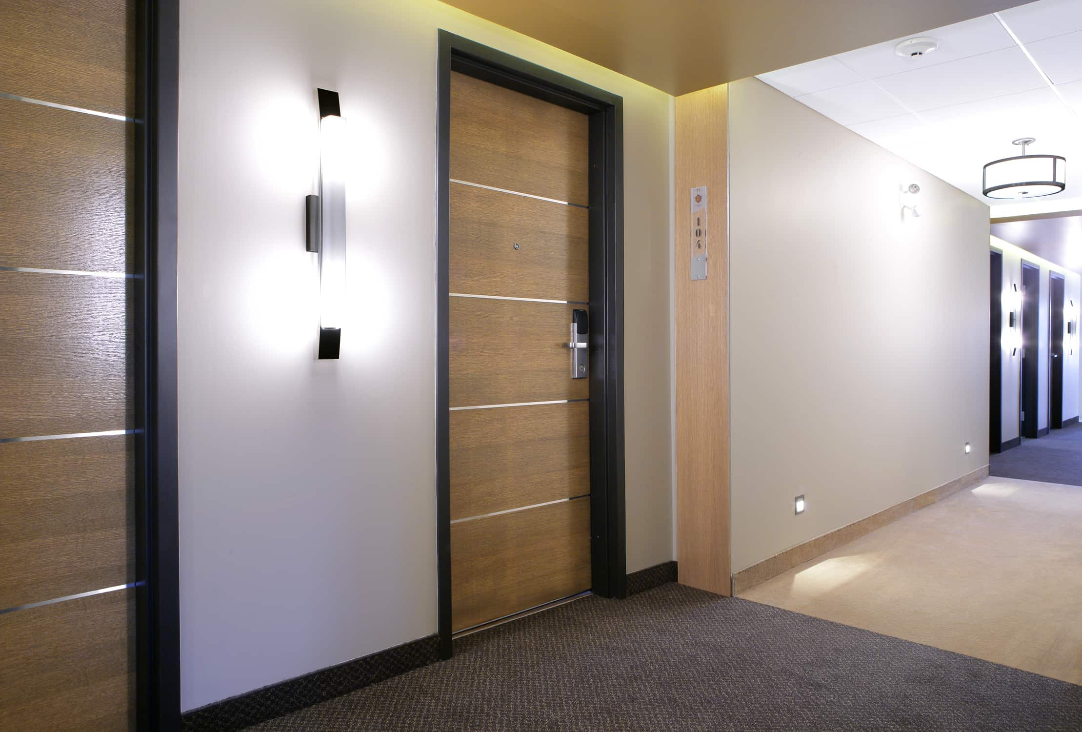 Wood Interior Laminated Doors Canuck Door System Co