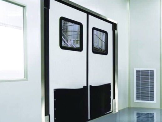retail impact traffic doors