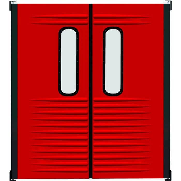 commercial and industrial traffic door