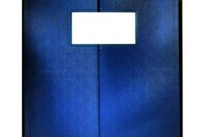 Double Layers PVC Flexible Traffic Door
