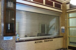 commercial rolling counter shutters