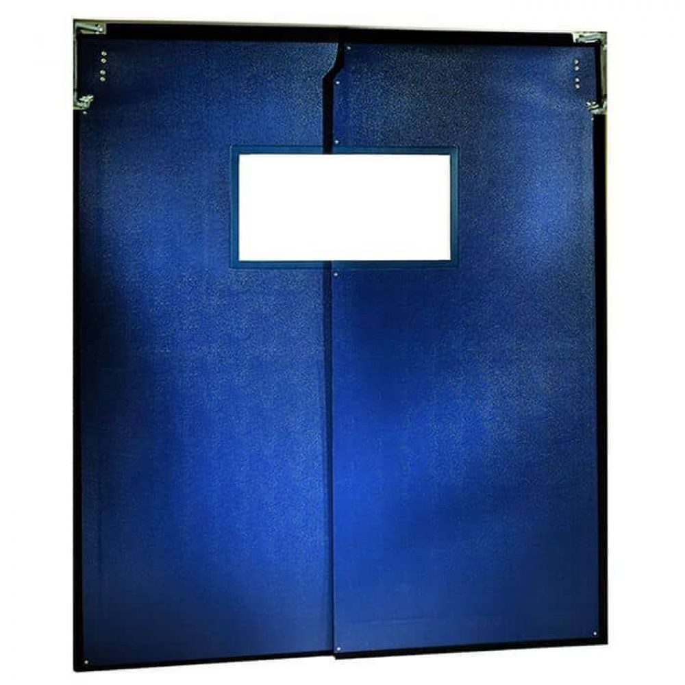 Double Layers PVC Flexible Traffic Door