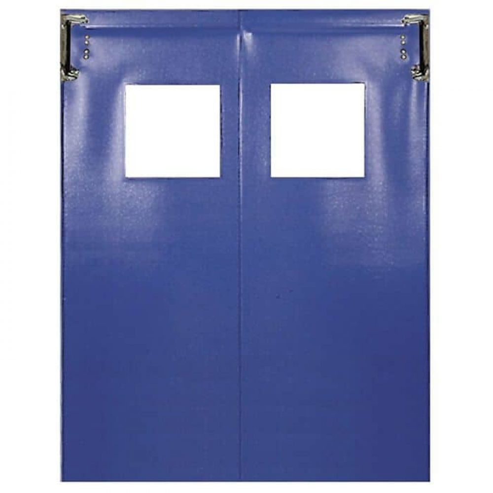 Textured Laminated PVC Flexible Traffic Door