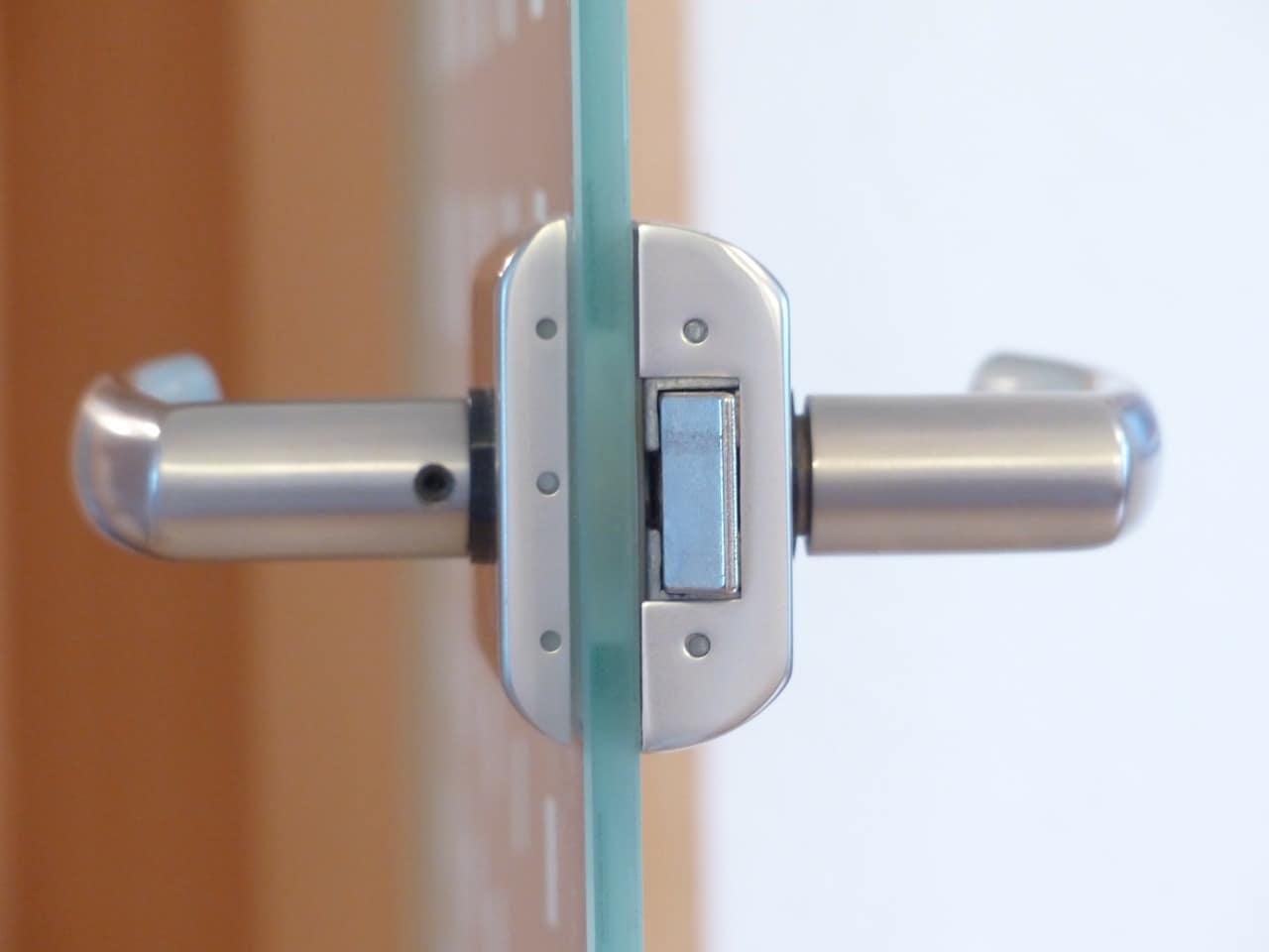 Swinging Frameless Glass Front Doors