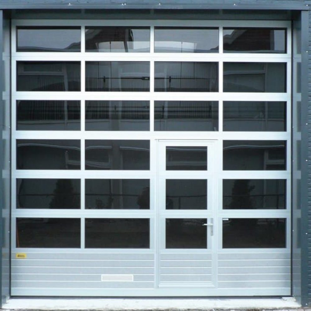 Commercial Glass Garage Doors