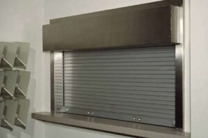 rolling counter door