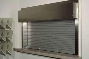 rolling counter door