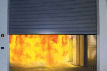 Rolling Steel Fire Door