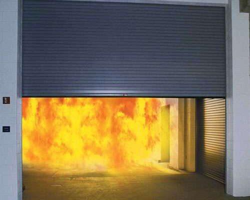 Rolling Steel Fire Door
