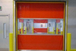 High Speed Fabric Doors
