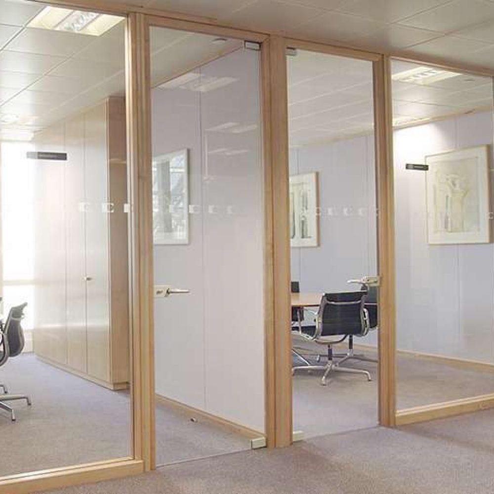 Swinging Frameless Glass Interior Doors