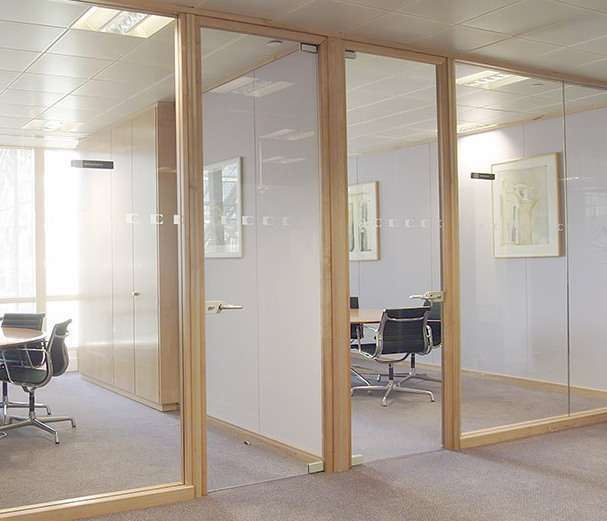 Swinging Frameless Glass Interior Doors