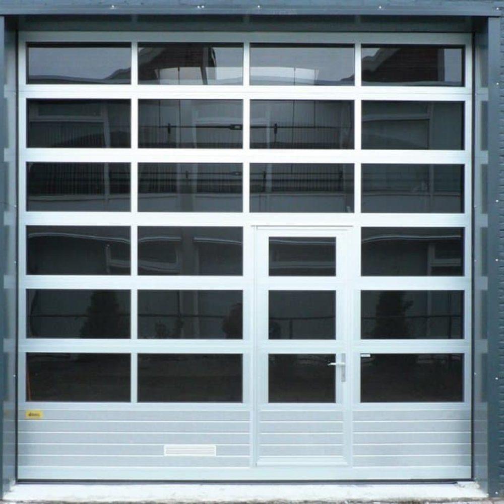 Commercial Glass Garage Doors