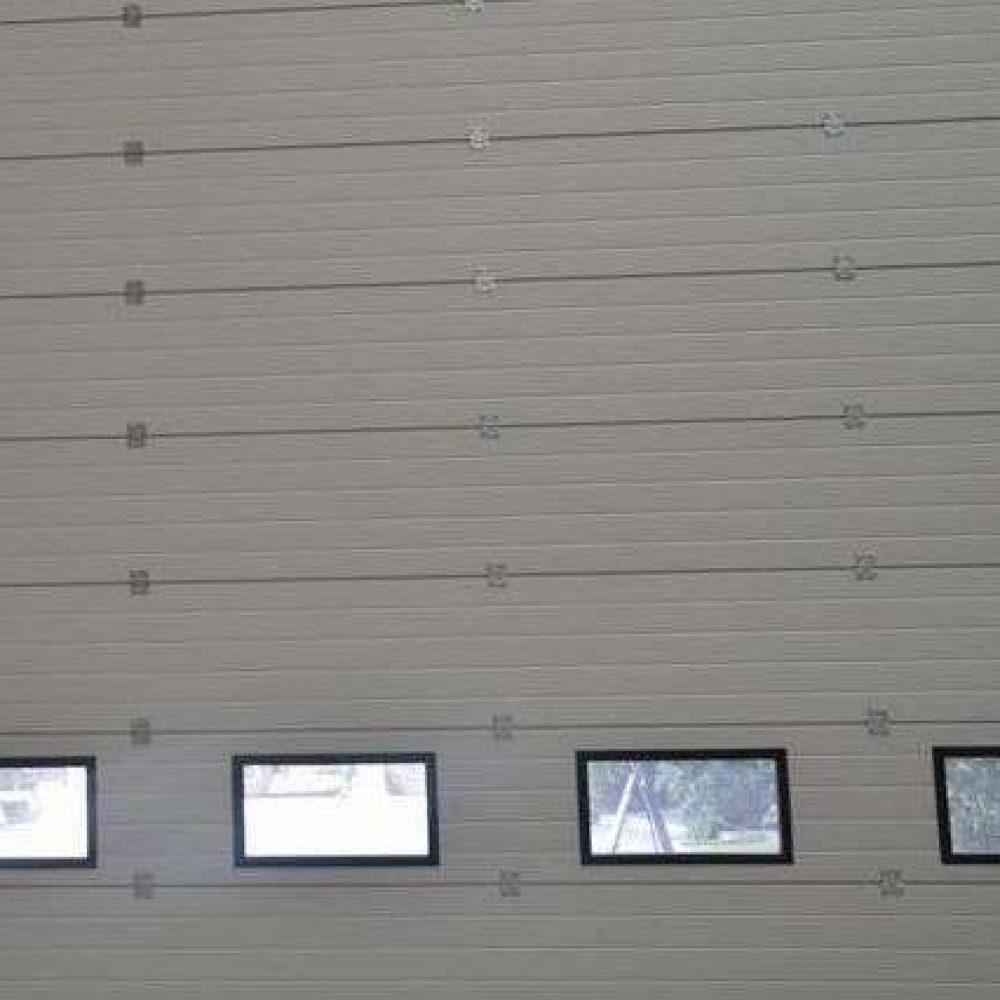 Sectional High Performance Doors