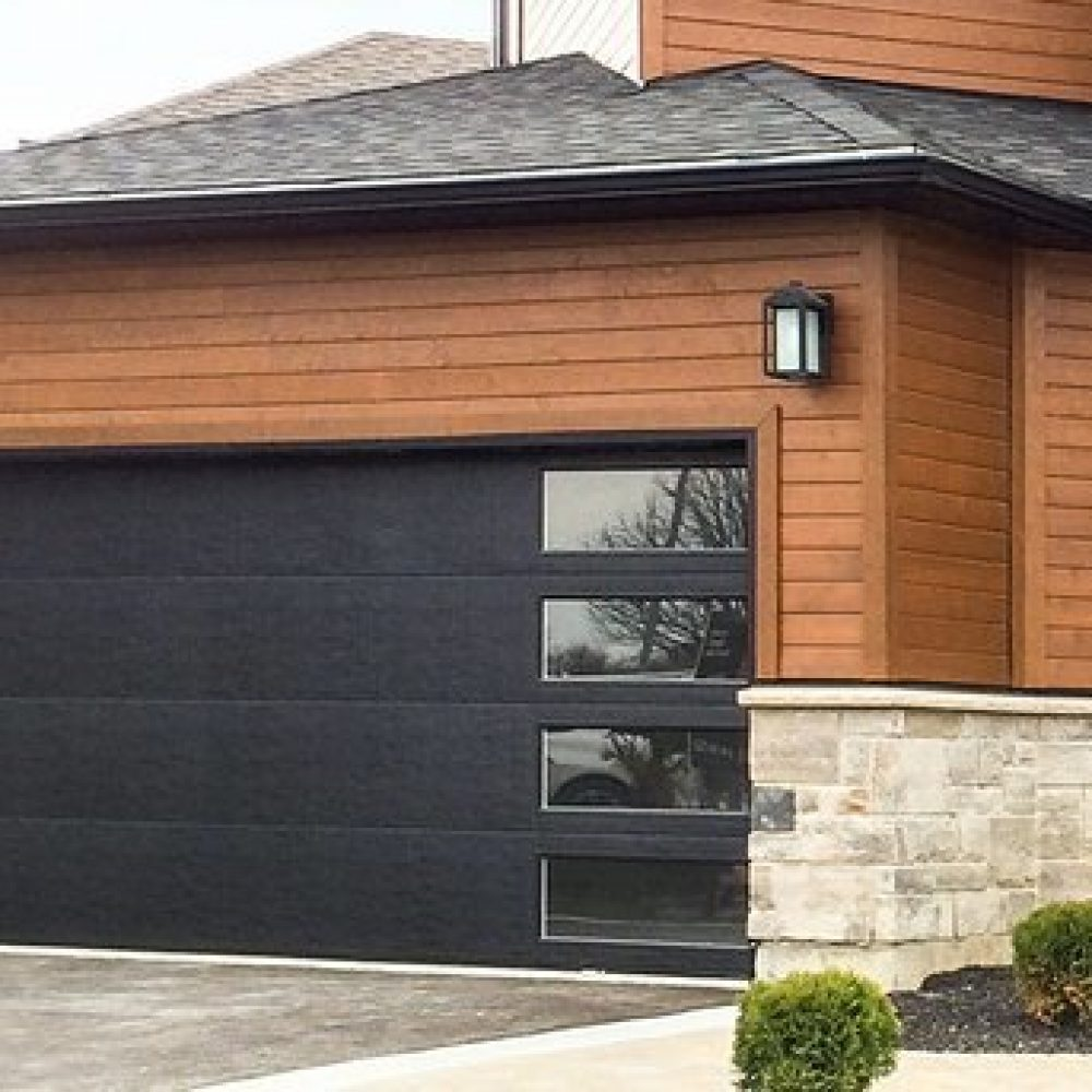 Flush Panel Insulated Garage Door Canuck Door Systems