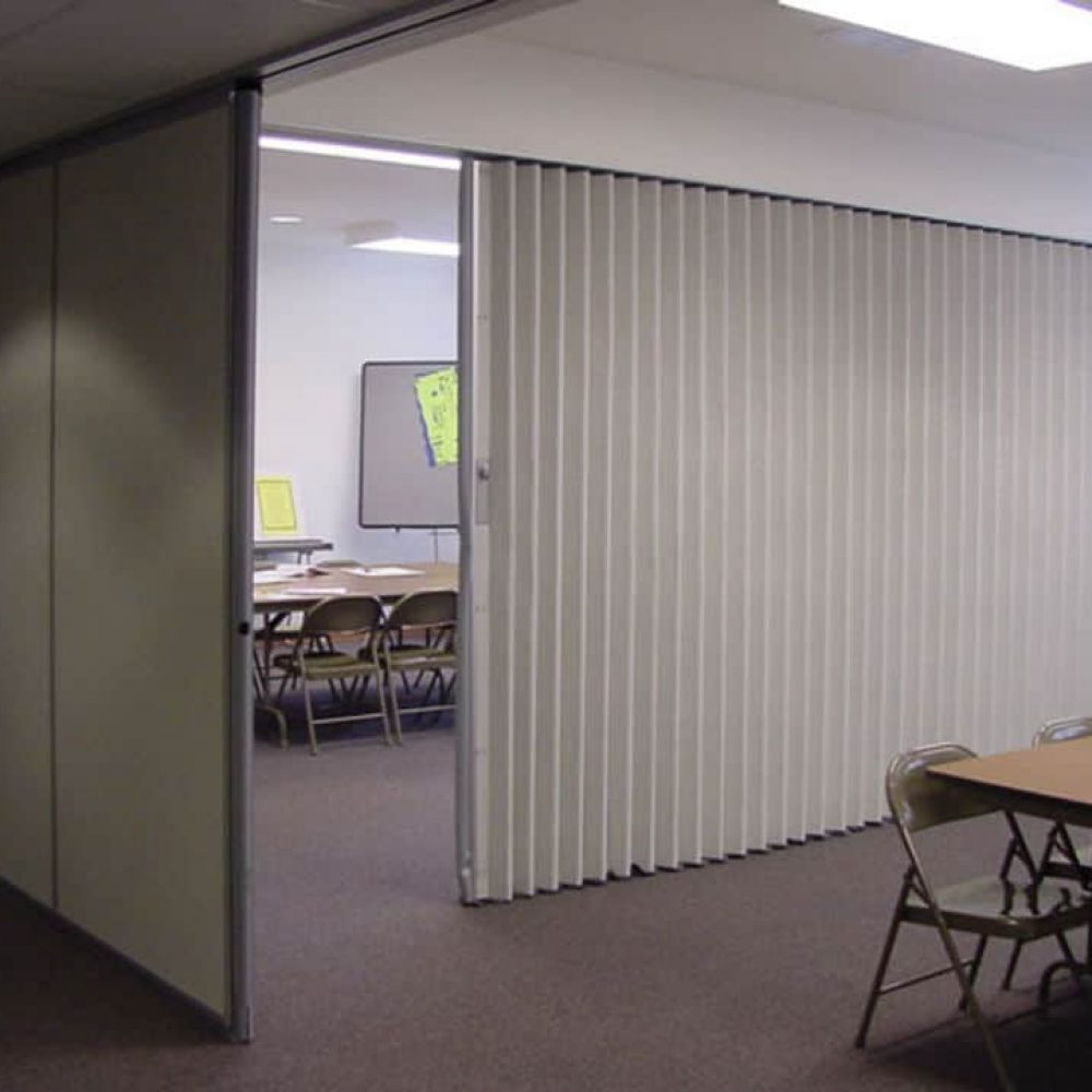 soundproof folding partitions