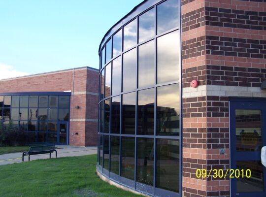 Storefront Insulated Aluminum Panels