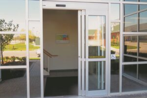 Automatic Glass Aluminum Telescopic Doors