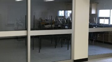 Interior Glass Aluminum Sliding Doors