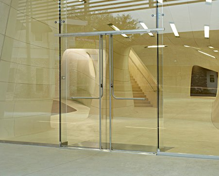 Interior Swinging Frameless Glass Doors