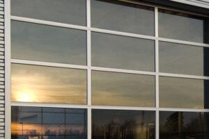 Commercial Glass Garage Door