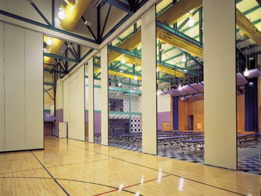 Electric Gym Operable Walls