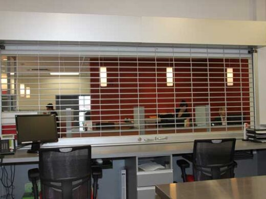 Open Style Rolling Security Grilles