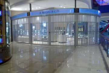 Polycarbonate Folding Security Grilles