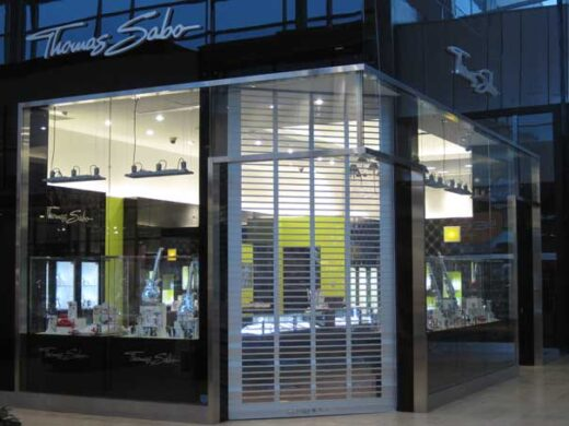 Polycarbonate Rolling Security Grilles