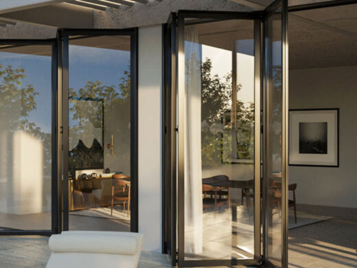 Glass Aluminum Bi-Folding Doors