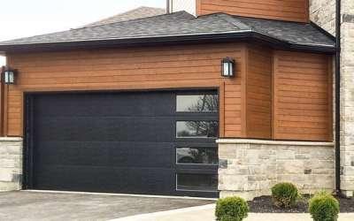 Flush Panel Insulated Garage Door