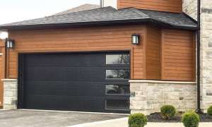 Flush Panel Insulated Garage Door