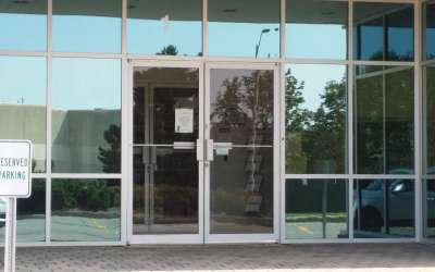 glass door repair